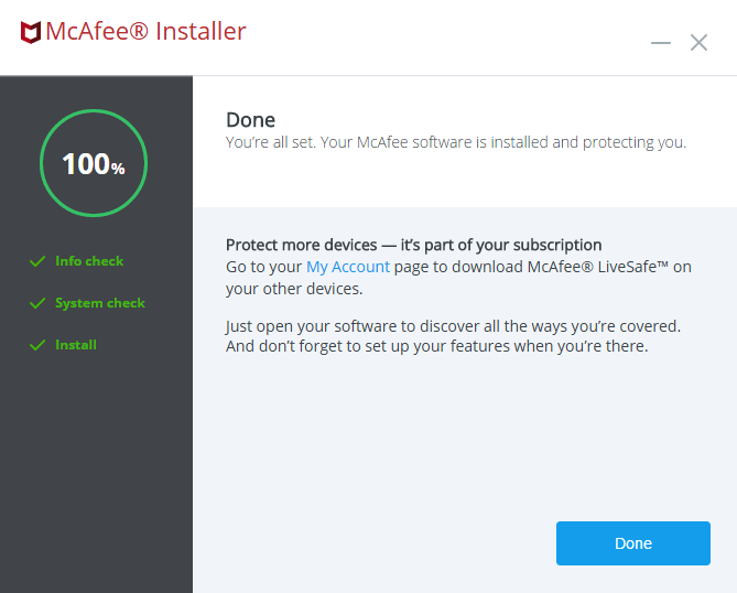 mcafee hecho